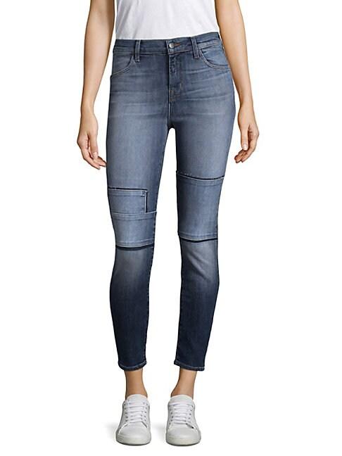 Alana Tonal Patch Jeans