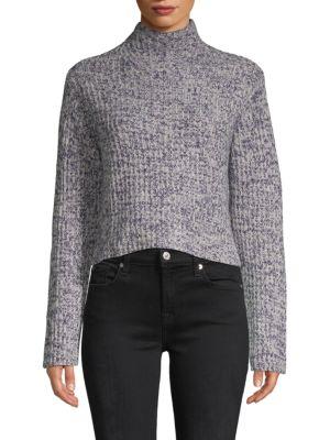 Naadam Lassell Hi-Low Mockneck Cashmere Sweater