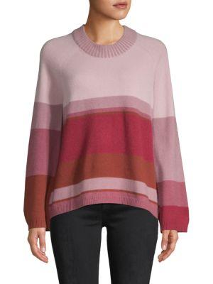 Naadam Eunomia Colorblock Cashmere Sweater