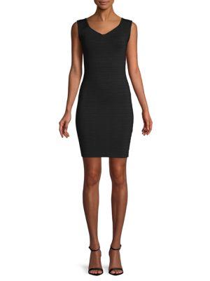 Ronny Kobo Patrika V-Neck Mini Dress