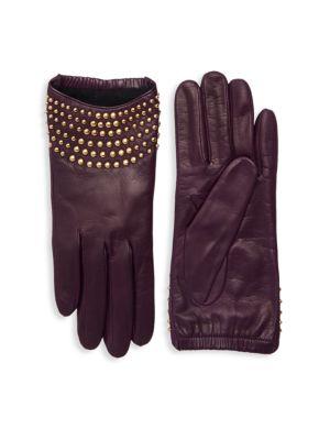 Portolano Gloves Studded Leather Gloves