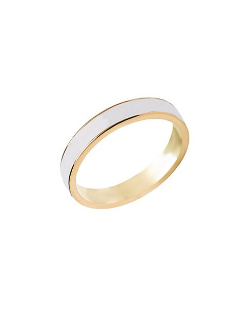 GABI RIELLE | Stackable Band Ring | Goxip