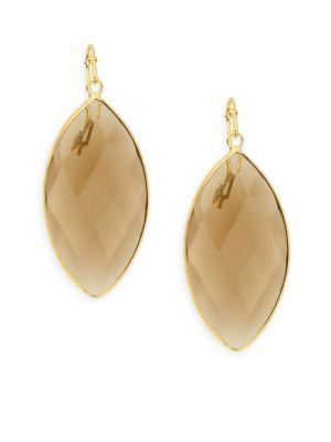 Panacea Quartz Drop Earrings