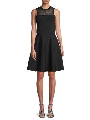 Jason Wu Sleeveless Ribbed A-Line Dress