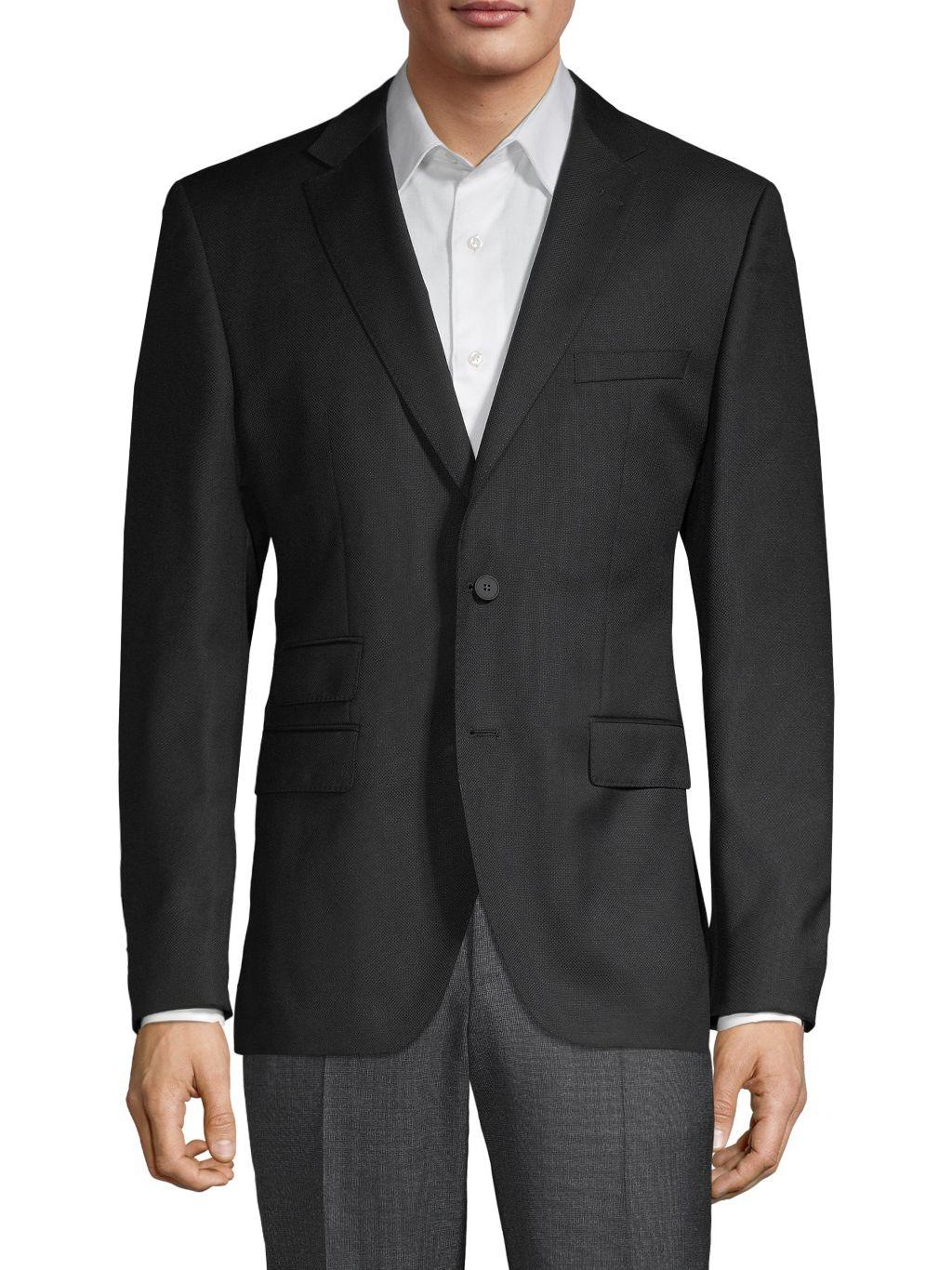 Boss Hugo Boss Standard-Fit Wool Blazer