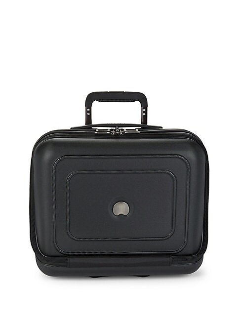 DELSEY | Polycarbonate Roller Carry-On Suitcase | Goxip