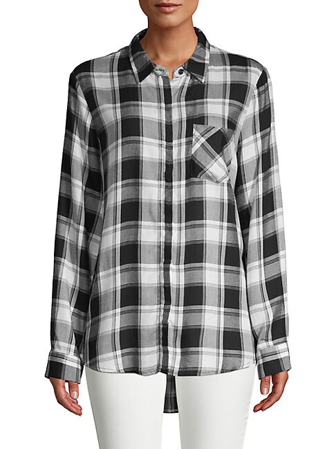 ALEXANDER JORDAN | Classic Plaid Button-Down Shirt | Goxip