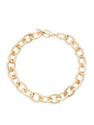 Kenneth Jay Lane Oval Link Necklace