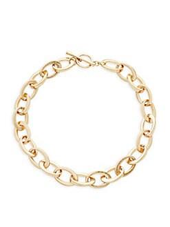 Kenneth Jay Lane - Oval Link Necklace