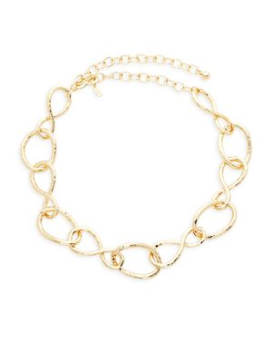 Kenneth Jay Lane Twisted Link Necklace