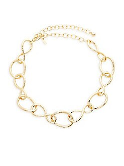 Kenneth Jay Lane - Twisted Link Necklace