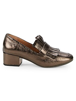4605261acd88 Gentle Souls - Ethan Leather Block Heel Loafers - saksoff5th.com