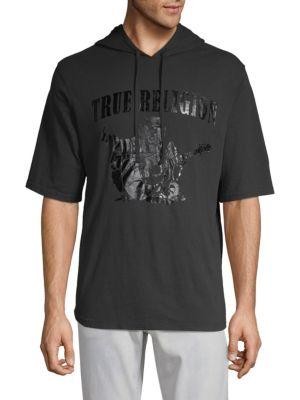 True Religion Graphic Cotton Hoodie