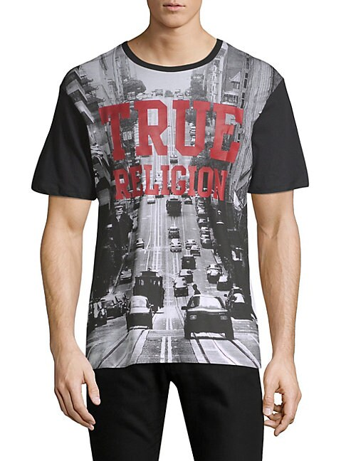 Car Graphic Cotton Tee