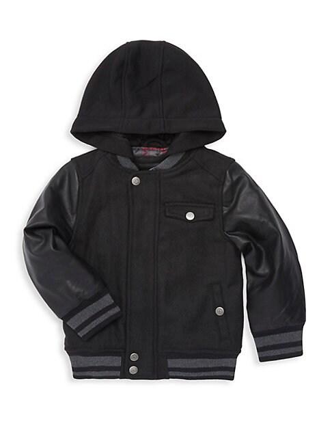 URBAN REPUBLIC | Baby Boy's Striped Hooded Jacket | Goxip