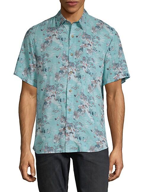 Printed Short-Sleeve Shirt