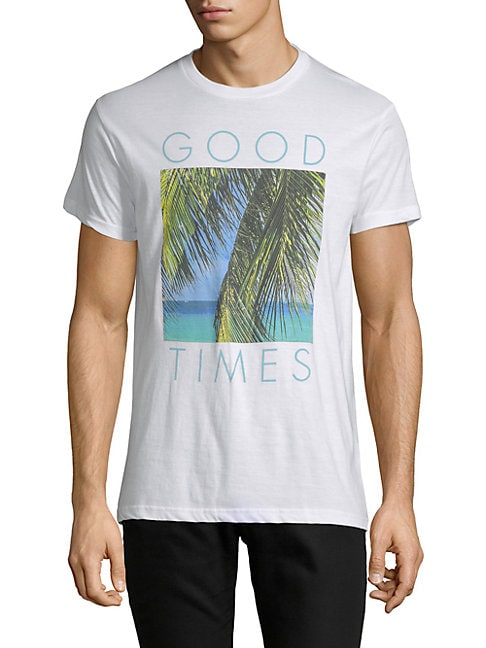 Good Times Palm Tree Cotton Tee