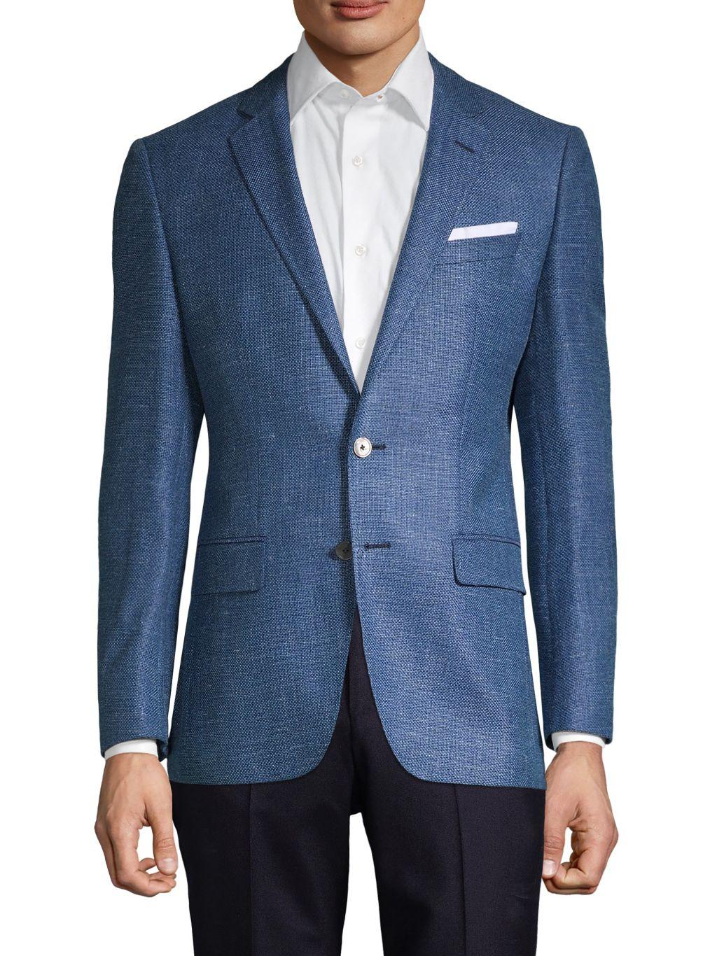 Boss Hugo Boss Hutsons Regular-Fit Virgin Wool-Blend Sportcoat