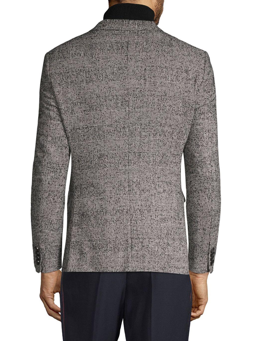 Boss Hugo Boss Standard-Fit Patterned Sportcoat
