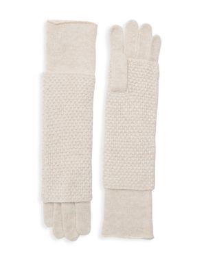 Portolano Gloves Popcorn Stitch Gloves
