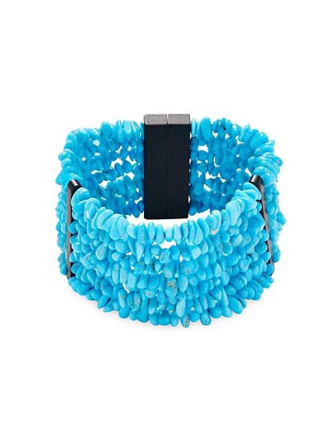 Turquoise Multi-Strands Bracelet
