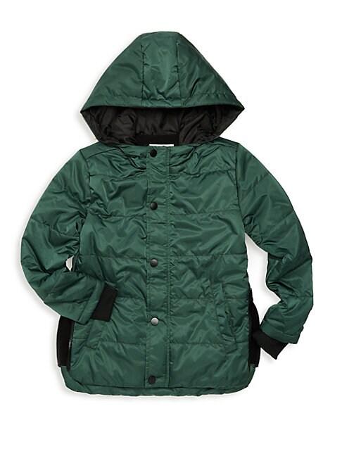 SOVEREIGN CODE Little Boy'S Hooded Puffer Jacket