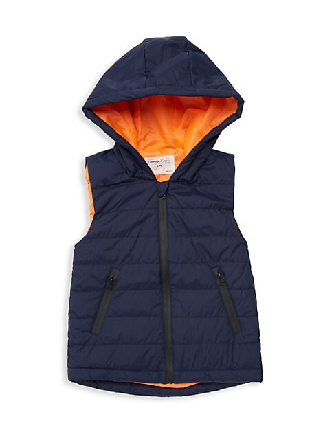 SOVEREIGN CODE Little Boy'S Kort Quilted Vest