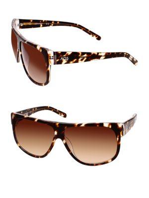 Aqs AVERY 60MM Square Sunglasses
