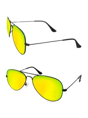 Aqs OLIVER 58MM Square Sunglasses