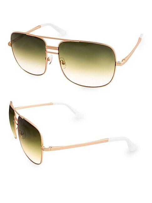AQS Lia 60Mm Square Sunglasses