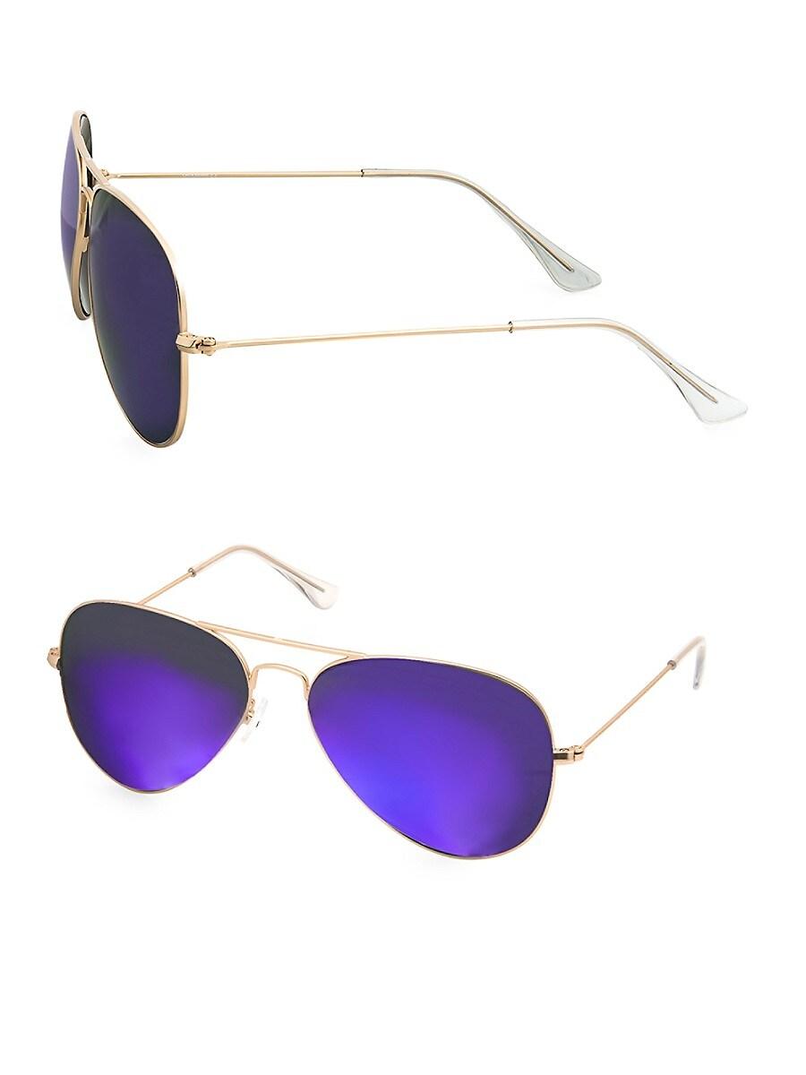 Women's JAMES 58MM Aviator Sunglasses