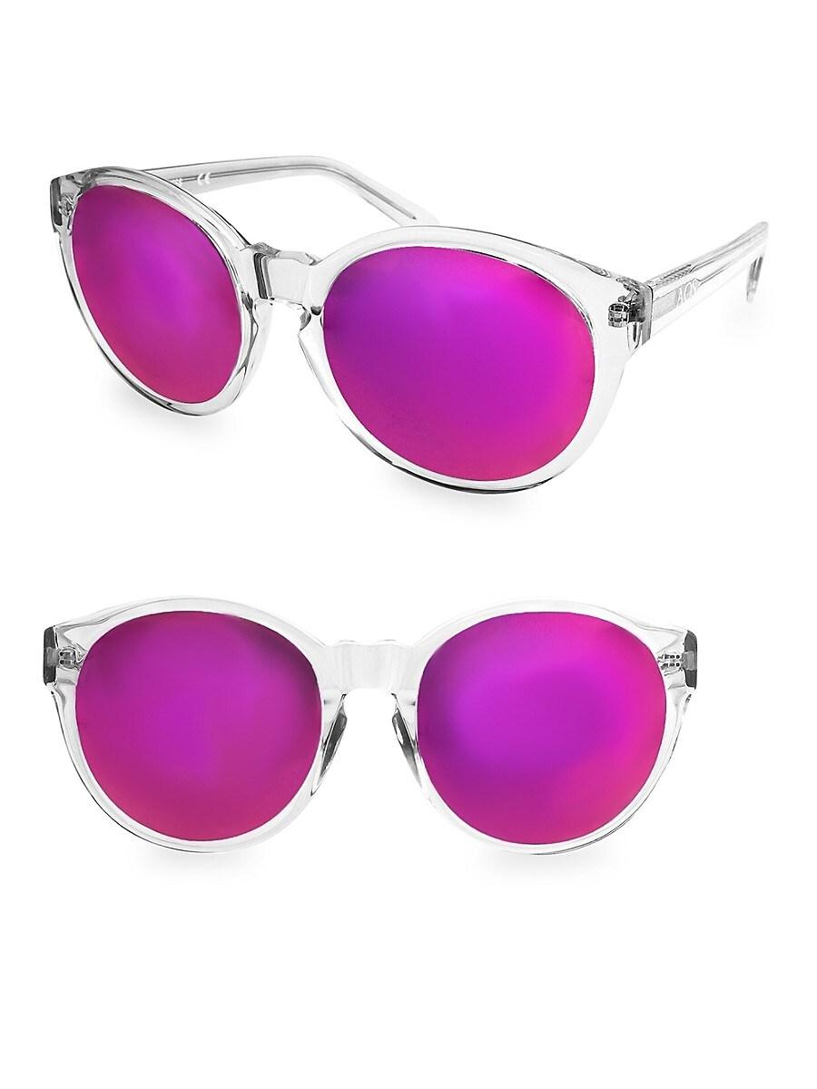 Women's DAISY 53MM Round Sunglasses