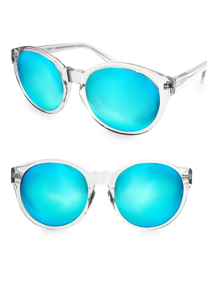 Women's 60mm Daisy Round Sunglasses