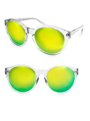 Aqs  60MM Daisy Round Sunglasses