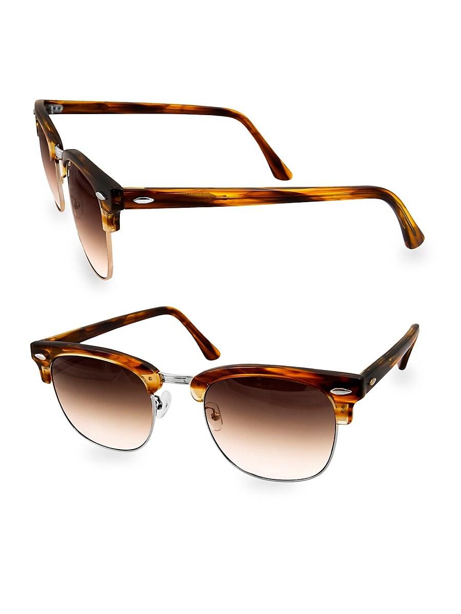 Women's MILO 49MM Clubmaster Sunglasses