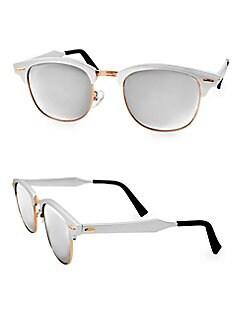 2d2e7f7f36 QUICK VIEW. AQS. MILO 49MM Clubmaster Sunglasses