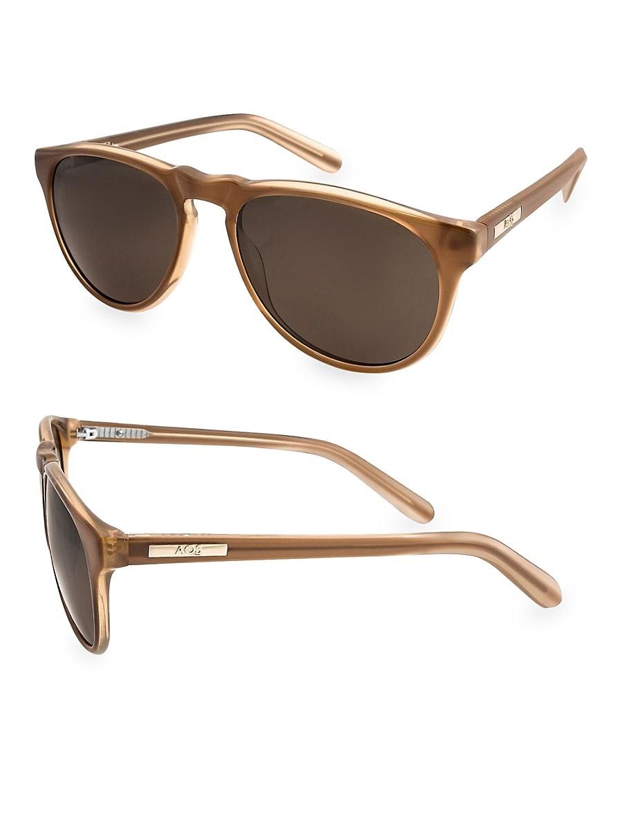 Women's 53MM Banks Oval Sunglasses