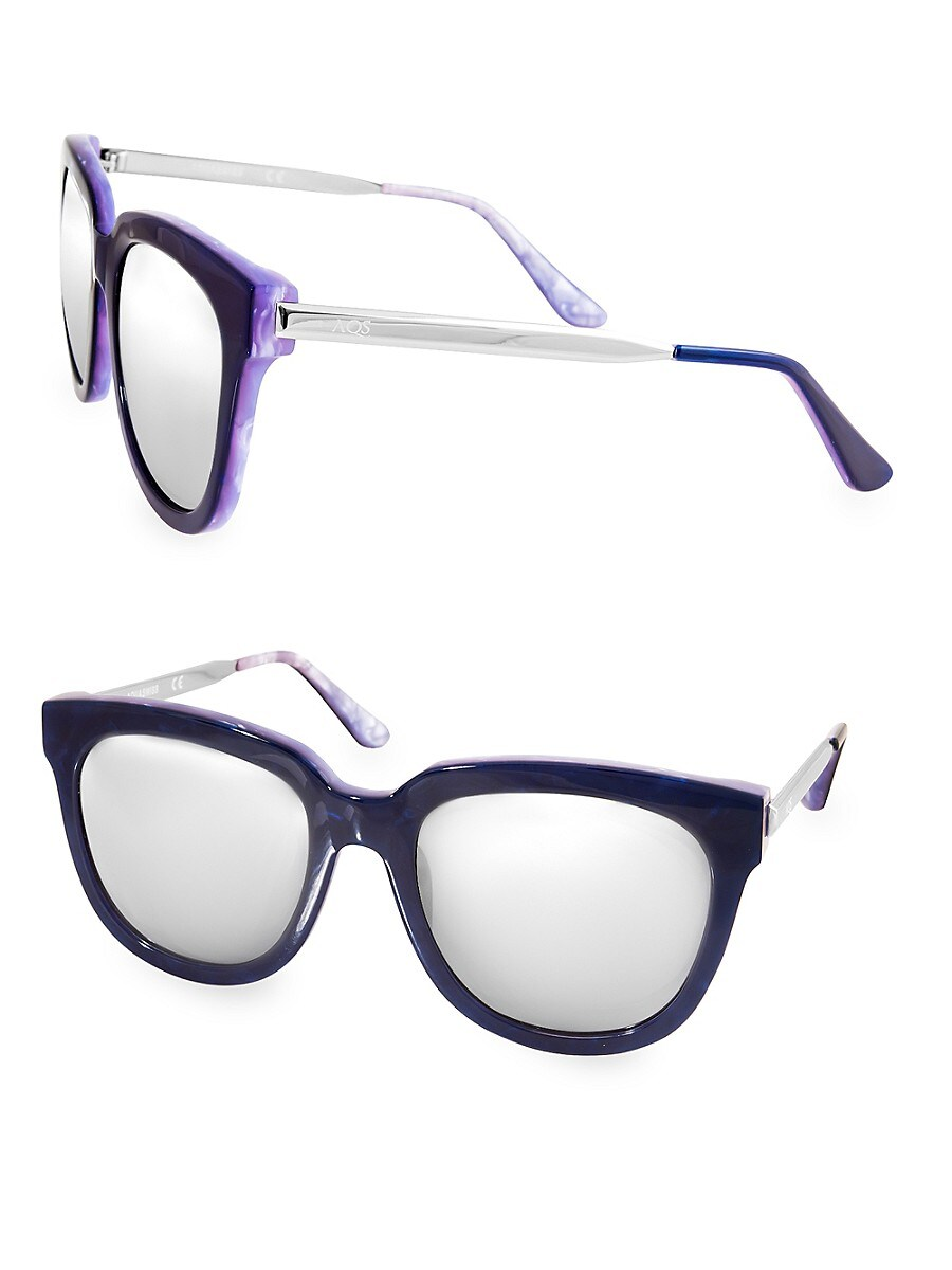 Women's PIPER 55MM Round Sunglasses