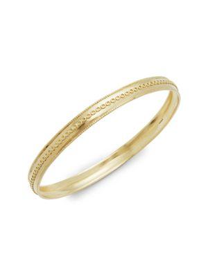 Amrapali Indira Filigree 18K Yellow Gold Bangle