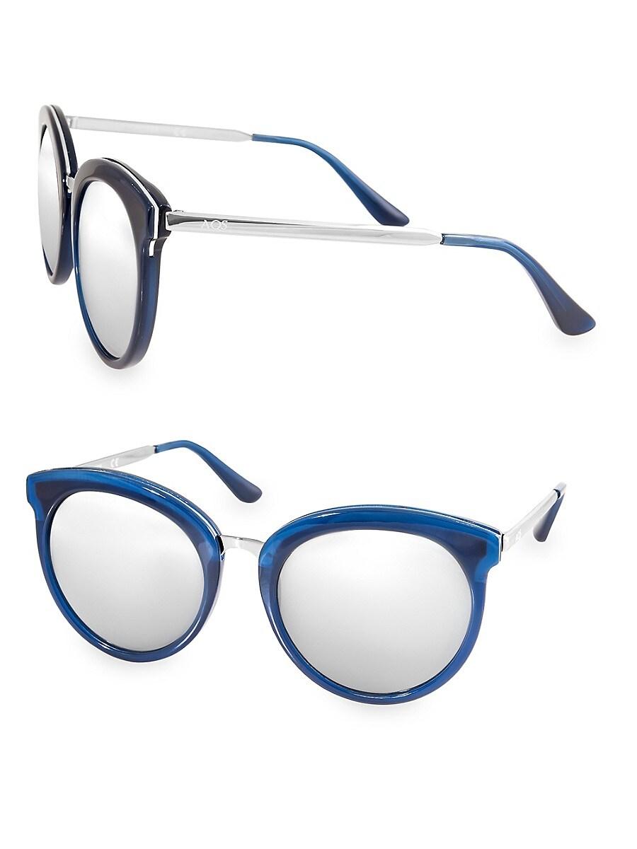 Women's POPPY 54MM Round Sunglasses
