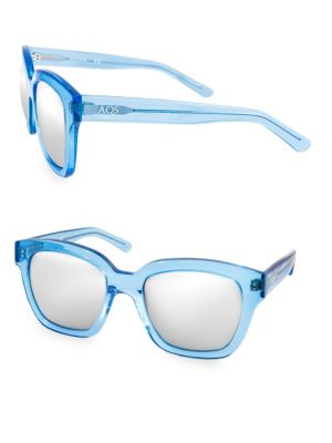 Aqs RORY 52MM Square Sunglasses