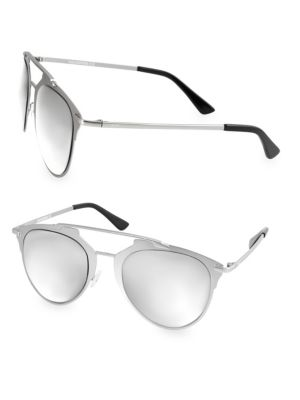 Aqs ALFIE 52MM Aviator Sunglasses