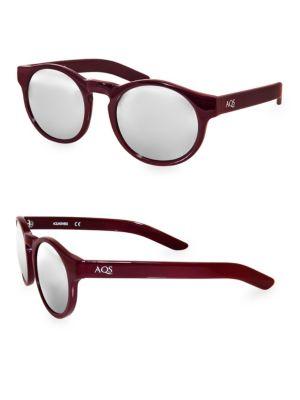Aqs  BENNI 49MM Round Sunglasses