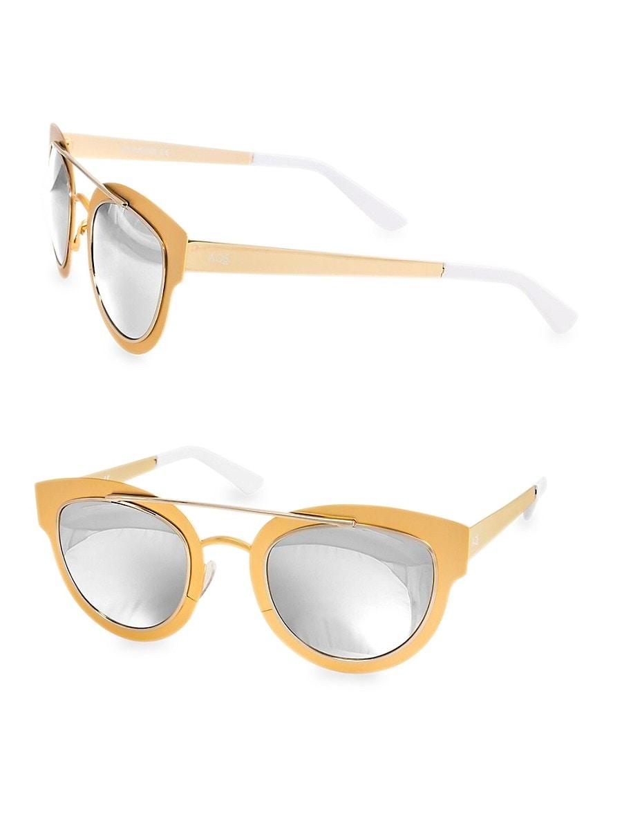 Women's 49mm Jolene Round Sunglasses