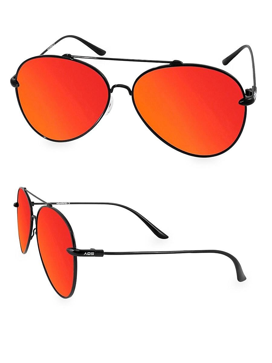 Women's Tommie Logo 60MM Aviator Sunglasses