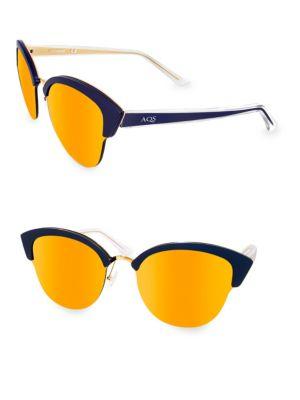 Aqs SERENA 70MM Cat Eye Sunglasses