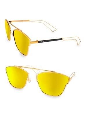 Aqs Emery 59MM Square Sunglasses
