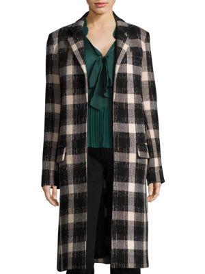 Derek Lam Open-Front Long Coat
