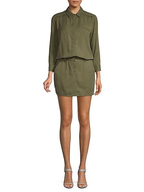 ETIENNE MARCEL   Long-Sleeve Mini Dress   Goxip