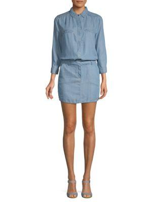 Etienne Marcel Long-Sleeve Mini Dress